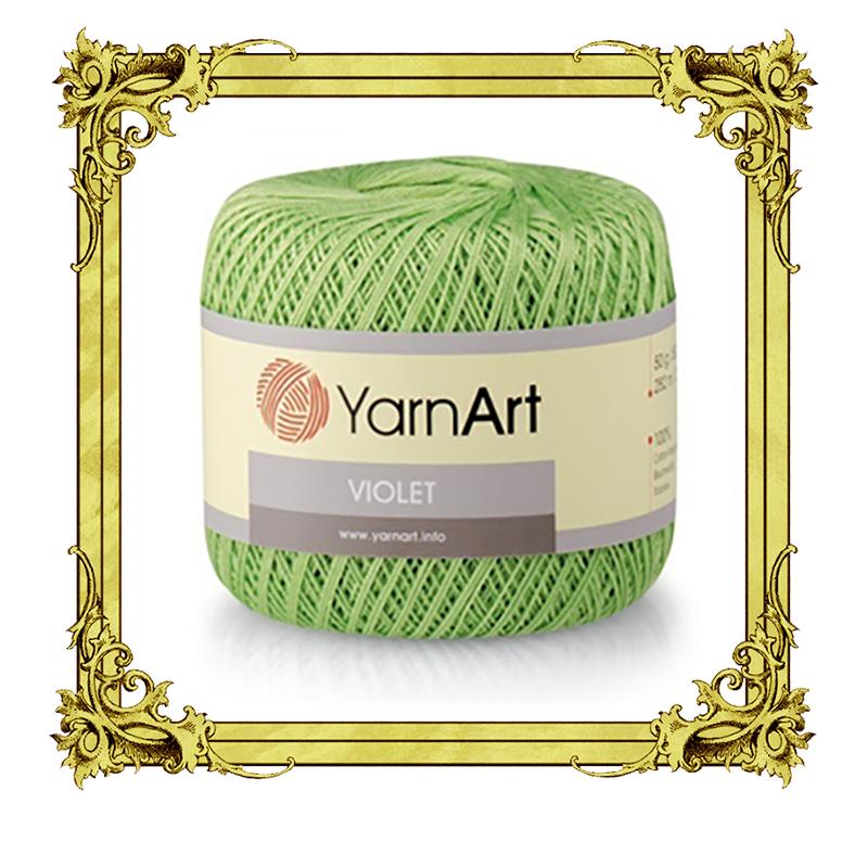 YarnArt VIOLET 100% мерсеризованный хлопок 50гр 282м Турция